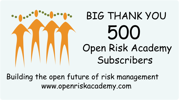 A thank you note on the occassion of 500 members