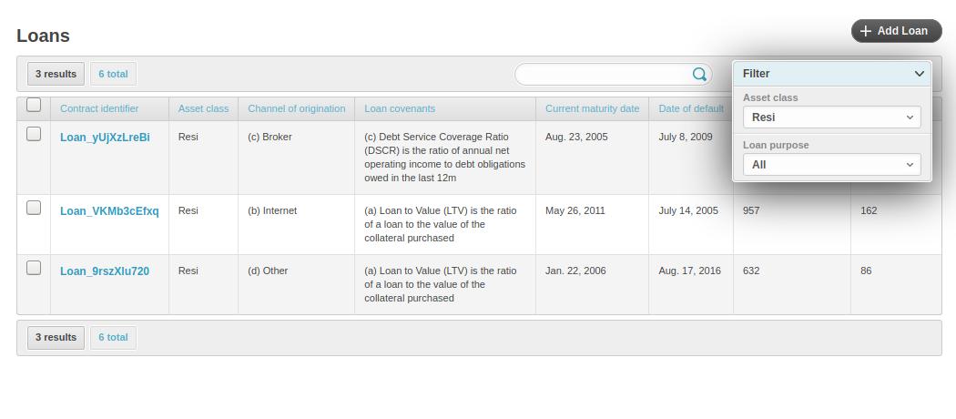 Screenshot of openNPL